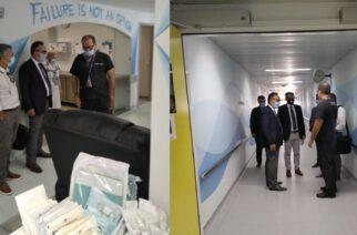 Έβρος: Τα Νοσοκομεία Αλεξανδρούπολης και Διδυμοτείχου επισκέφθηκε σήμερα ο υφυπουργός Υγείας Βασίλης Κοντοζαμάνης
