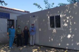Κορονοϊός: Αίθουσα για χώρο διαλογής ασθενών, απέκτησε το Κέντρο Υγείας Σαμοθράκης