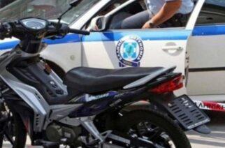 Φέρες: Τον συνέλαβαν, αφού οδηγούσε κλεμμένη μοτοσυκλέτα, προσπάθησε να διαφύγει και αντιστάθηκε