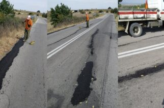 Ορεστιάδα: Άμεση αντίδραση της Περιφέρειας ΑΜ-Θ – Έκλεισαν οι επικίνδυνες ρωγμές στο δρόμο Δίκαια-Σπήλαιο
