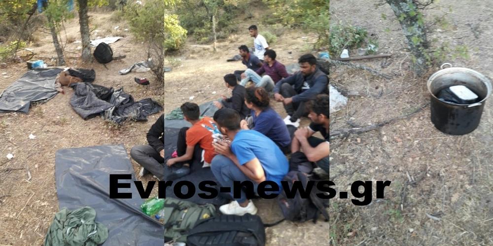 Σουφλί: Έκλεψαν, έσφαξαν και έφαγαν κατσίκια στο Μεγάλο Δέρειο 29 λαθρομετανάστες, που τελικά συνελήφθησαν