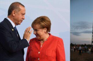 Έβρος: Ο Ερντογάν θα παραπονεθεί στη Μέρκελ για τον σταυρό που υψώθηκε στα ελληνοτουρκικά σύνορα