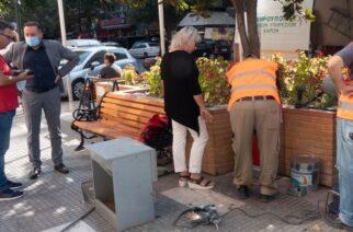 Ταΐστρες και ποτίστρες για τα αδέσποτα ζώα τοποθετούνται από τον Δήμο Αλεξανδρούπολης