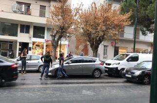 Πενταπλή καραμπόλα στο κέντρο της Αλεξανδρούπολης, λόγω του ψιλόβροχου