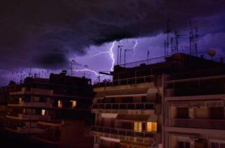 Έρχονται καταιγίδες και στην Θράκη