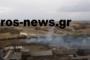 ΒΙΝΤΕΟ (από drone): Μεγάλη φωτιά  στη Βιομηχανική Περιοχή Ορεστιάδας – Έφτασε και το ελικόπτερο