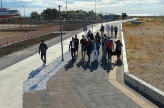Ολοκληρώνονται τα έργα της Στρατηγικής Βιώσιμης Ανάπτυξης στην παραλία Αλεξανδρούπολης (ΒΙΝΤΕΟ)