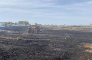 Πυρκαγιά πριν λίγο στο Μεγάλο Δέρειο Σουφλίου – Οι κάτοικοι είδαν λαθρομετανάστες στην περιοχή