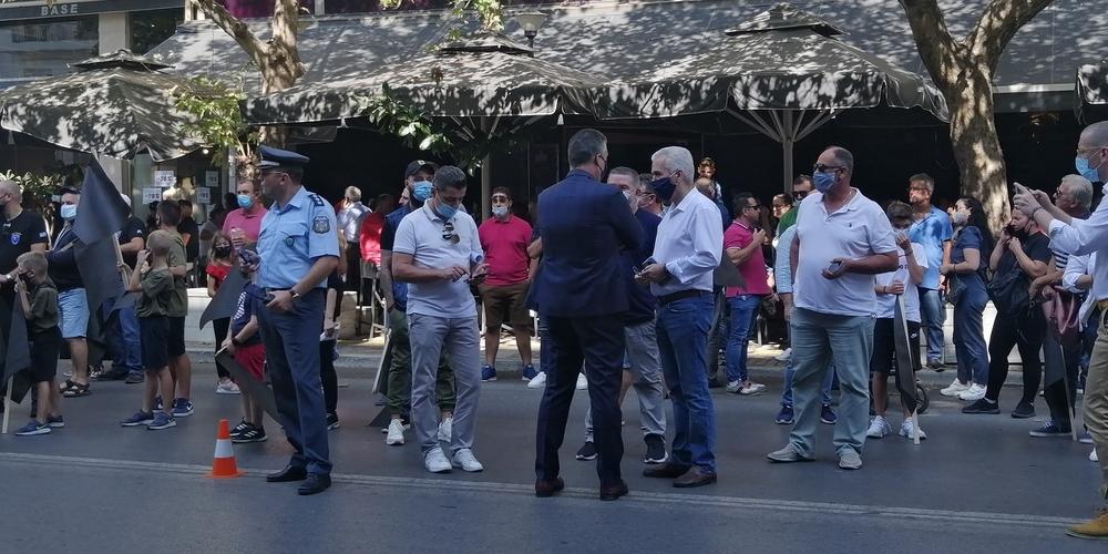Προβατώνας: Συμβολικός αποκλεισμός Εθνικής οδού και επιστολή στον Πρωθυπουργό για την 7η Ταξιαρχία