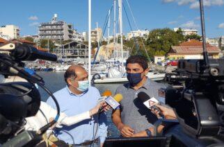 Αλεξανδρούπολη: Επίσκεψη του υφυπουργού Αθλητισμού Λευτέρη Αυγενάκη στο ΝΟΑ