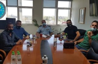 Συνάντηση της Ένωσης Συνοριοφυλάκων Έβρου, με τον Γενικό Επιθεωρητή Αστυνομίας Βορείου Ελλάδος
