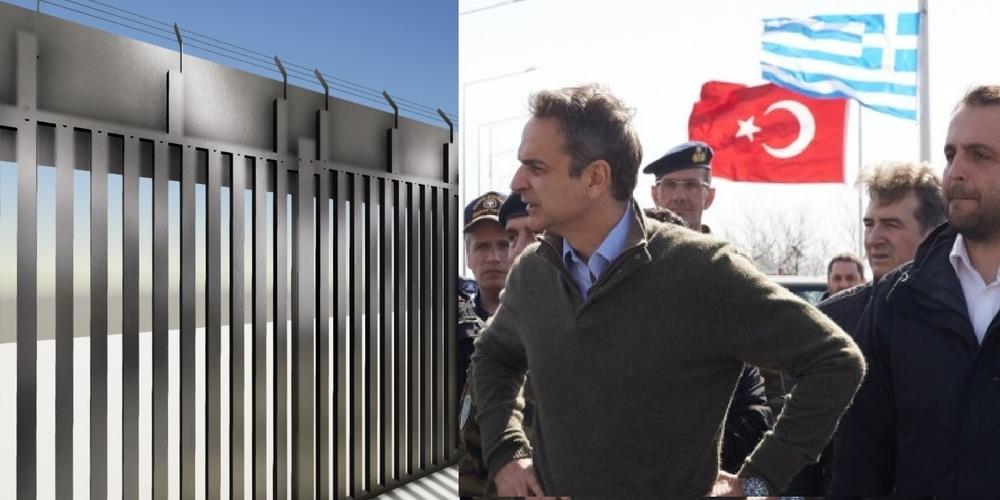 Φέρες: Αυτός είναι ο φράχτης που θα παρουσιαστεί σε λίγο στον Πρωθυπουργό Κυριάκο Μητσοτάκη