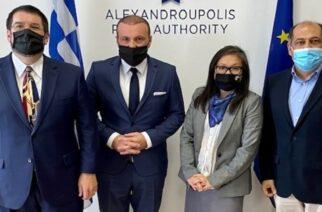 Μπέργκερ: Το λιμάνι της Αλεξανδρούπολης μπορεί να διασφαλίσει και τα νοτιοανατολικά σύνορα της Ευρώπης
