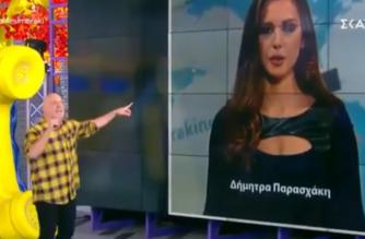 """ΒΙΝΤΕΟ: Όταν ο Μουτσινάς """"ανακάλυψε"""" την Εβρίτισσα τηλεπαρουσιάστρια του ΘΡΑΚΗ ΝΕΤ Δήμητρα Παρασχάκη"""