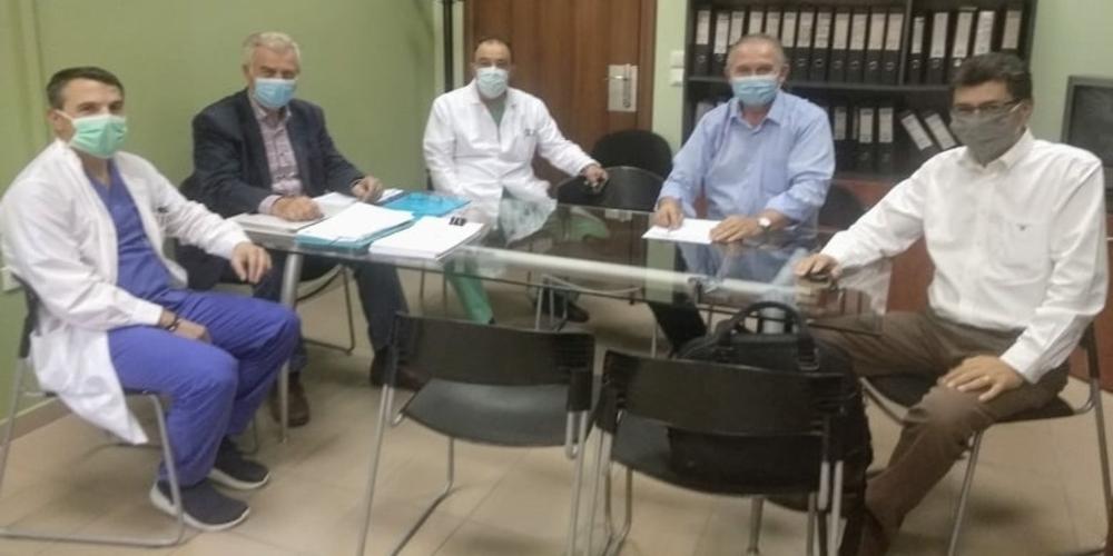 Διδυμότειχο: Τα προβλήματα του Νοσοκομείου συζητήθηκαν στην επίσκεψη Αντιπεριφερειάρχη Υγείας και Διευθυντή Δημόσιας Υγείας