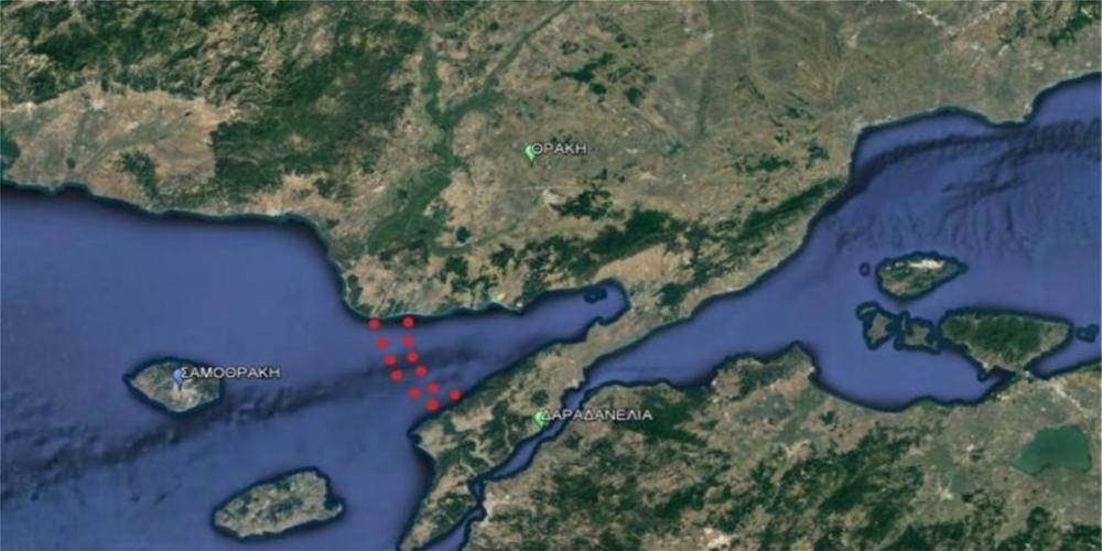 Προκαλούν οι Τούρκοι με συγκέντρωση του στόλου στον Κόλπο του Ξηρού, απέναντι απ' τον Έβρο