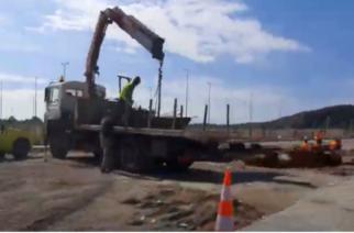 ΒΙΝΤΕΟ: Προχωράει η κατασκευή του σταθμού διοδίων της Εγνατίας οδού στο Αρδάνιο