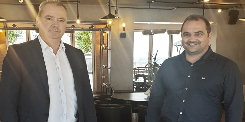 Διδυμότειχο: Συνάντηση δημάρχου Ρωμύλου Χατζηγιάννογλου με τον δήμαρχο Κατερίνης Κώστα Κουκοδήμο