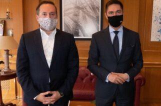 Την σύνδεση Αλεξανδρούπολης-Πολωνίας μέσω του δικτύου Via Carpatia, συζήτησαν ο δήμαρχος Γ.Ζαμπούκης και ο Πολωνός πρέσβης