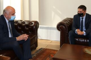 Για τουριστική και πολιτιστική συνεργασία, συζήτησαν ο Περιφερειάρχης Χ.Μέτιος με τον Πρέσβη της Πολωνίας