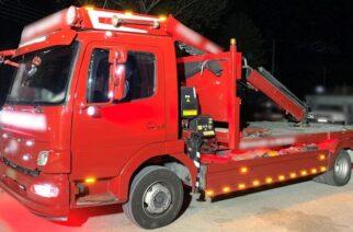 Έβρος: Ο Έλληνας του πήγε αυτοκίνητο με γερανοφόρο και ο αλλοδαπός μετέφερε 8 λαθρομετανάστες, αλλά συνελήφθησαν