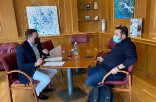 Αλεξανδρούπολη: Τα μέτρα για τον κορονοϊό, συζήτησαν ο δήμαρχος Γ.Ζαμπούκης με τον Πρόεδρο της Εστίασης