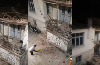 Διδυμότειχο: Κατέρρευσε η στέγη εμφατικού, παραδοσιακού κτιρίου, που στέγαζε παλαιότερα το εργαστήρι αγγειοπλαστικής