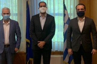 Σουφλί: Μεταφορά της σιδηροδρομικής γραμμής εκτός της πόλης, ζήτησε απ' τον Γ.Κεφαλογιάννη ο δήμαρχος Π.Καλακίκος