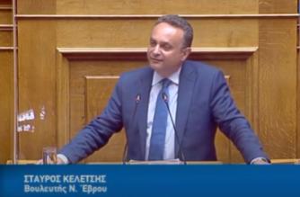 """Θετικός στον κορονοϊό ο βουλευτής Έβρου Σταύρος Κελέτσης – """"Κόλλησε"""" από συνεργάτη του"""