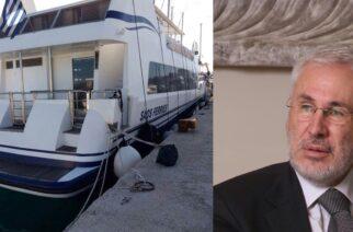Επιστροφή Μανούση στην Σαμοθράκη: Βάζει πλοίο στην ακτοπλοϊκή γραμμή Αλεξανδρούπολη-Θέρμα