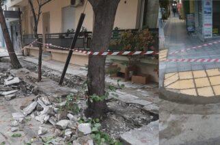 Ορεστιάδα: Δήμαρχος και Αντιδήμαρχος πανηγυρίζουν για μια… ράμπα και μερικά μέτρα πεζοδρομίου