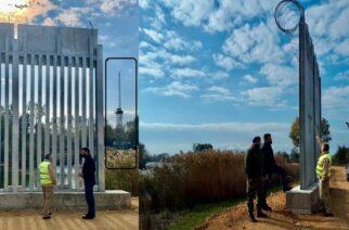 Πέτροβιτς: Ενημερώθηκε για τις εργασίες κατασκευής του φράχτη υπό την παρακολούθηση των Τούρκων