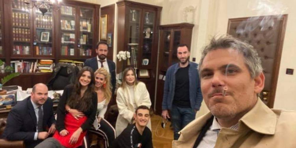 Ποιο lockdown; Ο πρόεδρος του Δικηγορικού Συλλόγου Αθηνών έκανε πάρτι γενεθλίων με 10 άτομα (ΒΙΝΤΕΟ)