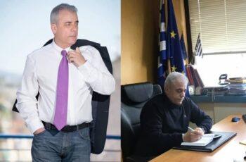 Ο Εβρίτης Νίκος Βαφειάδης και Αντιδήμαρχος Αθηναίων παίρνοντας τις αρμοδιότητες της Αλεξίας Έβερτ