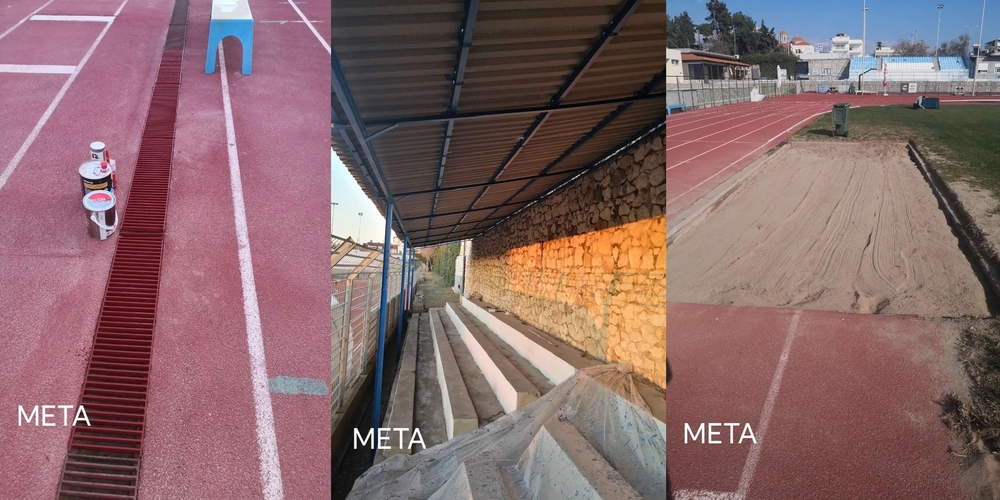 Παρεμβάσεις σε αθλητικούς χώρους από τα συνεργεία του Δήμου Αλεξανδρούπολης