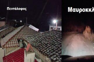 Έβρος: Άρχισε να χιονίζει εδώ και ώρα στα ορεινά Ορεστιάδας, Σουφλίου, Διδυμοτείχου