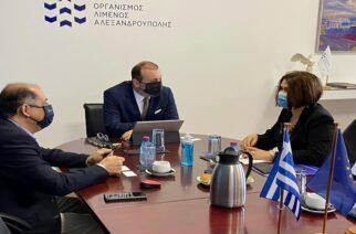 Το έντονο το επενδυτικό ενδιαφέρον της Σλοβακίας στην Αλεξανδρούπολη παρουσίασε η πρέσβης της