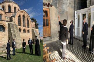 Μέτιος: Χρηματοδότηση 900.000 ευρώ, για αποκατάσταση τοιχογραφιών Παναγίας Κοσμοσώτειρας Φερών απ' το ΕΣΠΑ