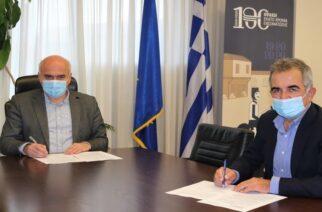 Υπογράφηκε στην Περιφέρεια ΑΜΘ η σύμβαση για τον δρόμο ενοποίησης του παραλιακού μετώπου Ροδόπης-Έβρου