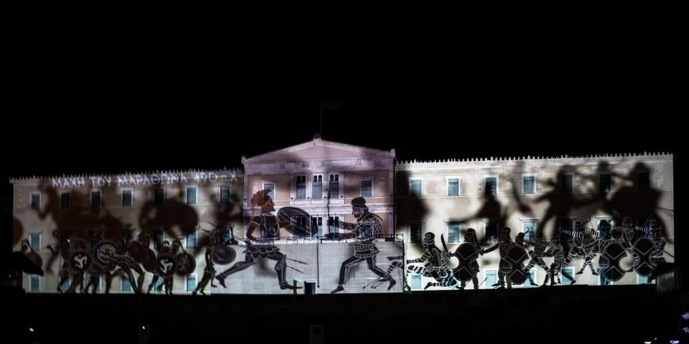 ΒΙΝΤΕΟ: Οι εντυπωσιακές εικόνες για την προσφορά των Ενόπλων Δυνάμεων στην πρόσοψη της Βουλής