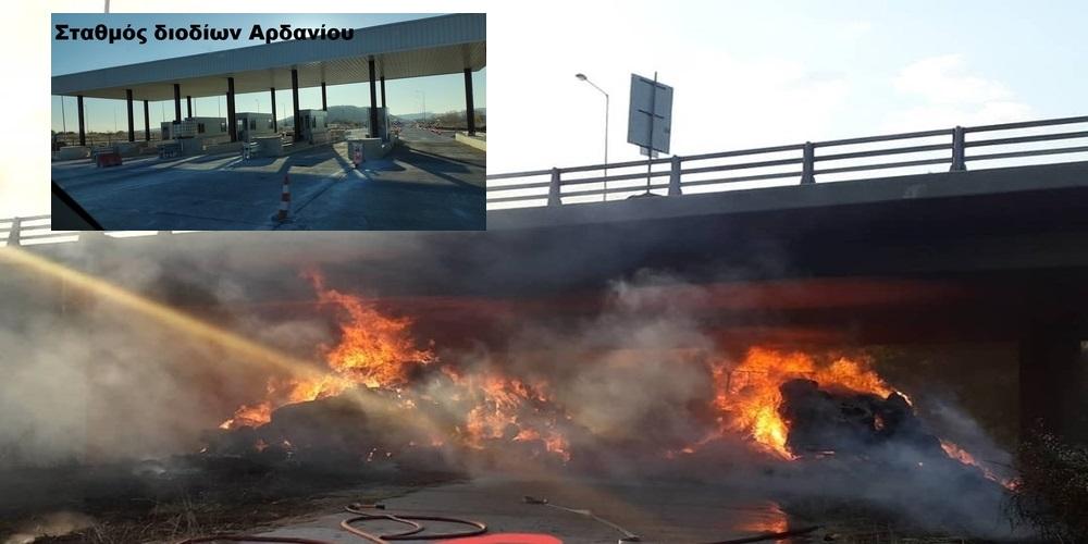 Εγνατία Οδός: Ακόμα να τελειώσει η αποκατάσταση της γέφυρας Μάνθειας – Νέα παράταση κυκλοφοριακών ρυθμίσεων