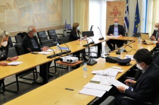 Σύσκεψη Μέτιου με Διοικητή Εθνικής Αρχής Διαφάνειας, για εντατικοποίηση ελέγχων τήρησης μέτρων κατά πανδημίας