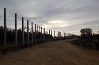 Έβρος: Προχωρούν οι εργασίες κατασκευής του φράχτη στην περιοχή Φερών
