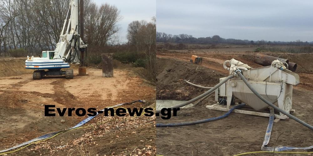 Διδυμότειχο: Ξεκίνησαν οι εργασίες κατασκευής υπερυψωμένου παρατηρητηρίου στα ελληνοτουρκικά σύνορα στο Πύθιο (ΒΙΝΤΕΟ)