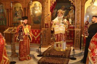 Ορεστιάδα: Θεία Λειτουργία απ' τον Μητροπολίτη κ.Δαμασκηνό προς τιμήν του Αγίου Ορέστη