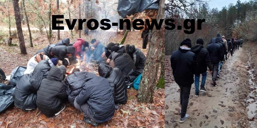 Έβρος: Η επίσημη ανακοίνωση της Αστυνομίας για τη σύλληψη λαθρομεταναστών, που έκλεψαν όπλα και πυροβολούσαν