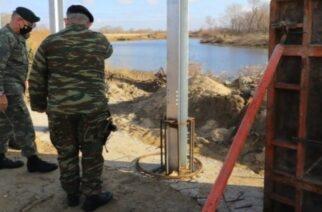 Έβρος: Τα ελληνοτουρκικά σύνορα και τον φράχτη, επισκέφθηκε ο Αρχηγός ΓΕΕΘΑ Κωνσταντίνος Φλώρος (φωτορεπορτάζ)