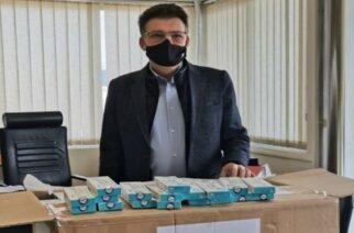 Δωρεά 500 γρήγορων τεστ ανίχνευσης κορωνοϊού από την Gastrade ΑΕ
