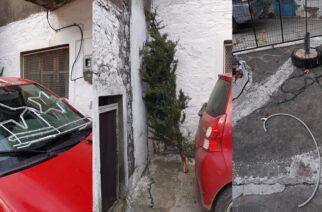 Σαμοθράκη: ΝΤΡΟΠΗ- Ψυχοπαθείς αλήτες, κατέστρεψαν τον Χριστουγεννιάτικο στολισμό του δήμου στο χωριό Λάκωμμα