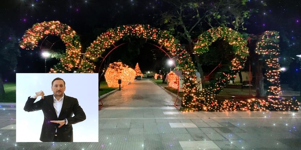 ΒΙΝΤΕΟ: Ο δήμαρχος Γιάννης Ζαμπούκης στέλνει τις ευχές του στους πολίτες στη… Νοηματική γλώσσα